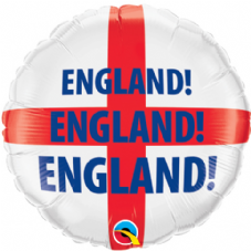 England St. Georges Cross Foil Helium Balloon